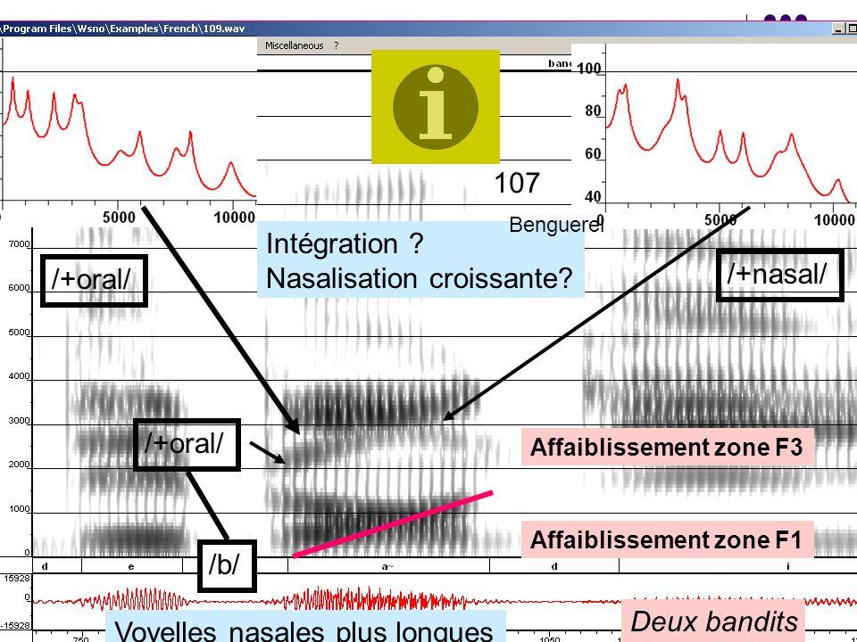 Nasalisation croissante /+oral/ /+nasal/