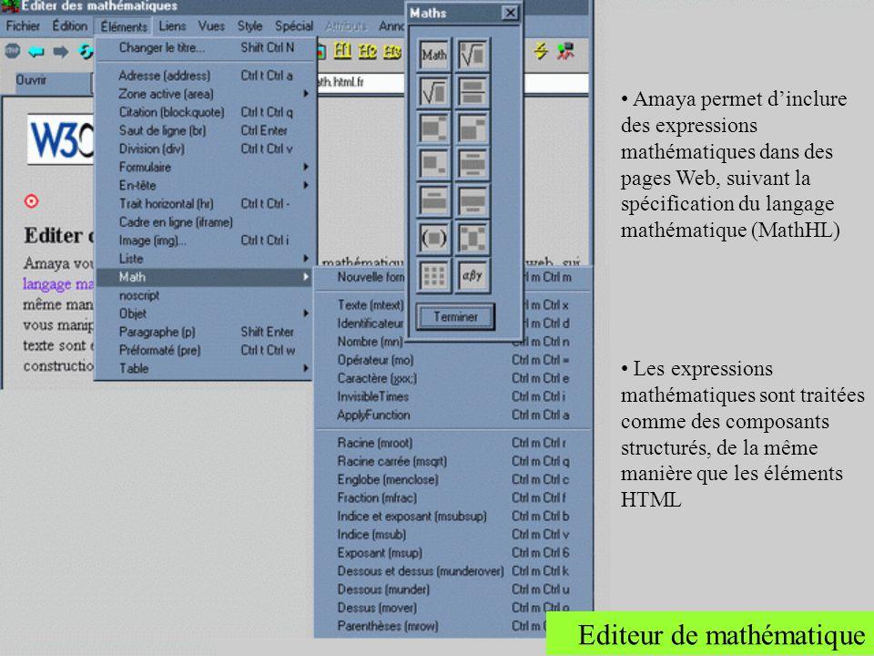 Editeur de mathématique