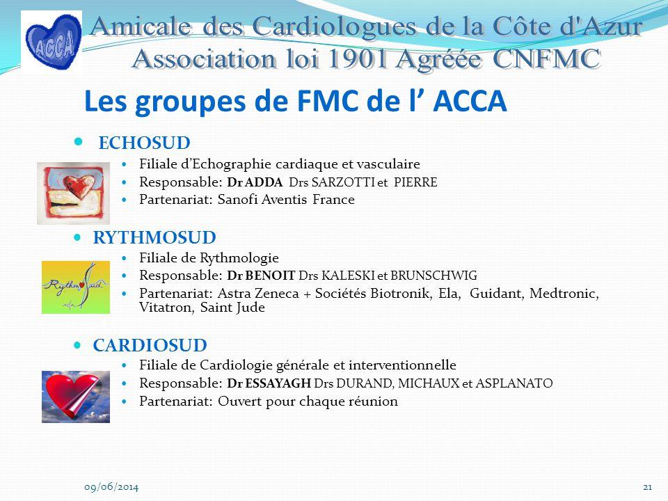 Les groupes de FMC de l' ACCA