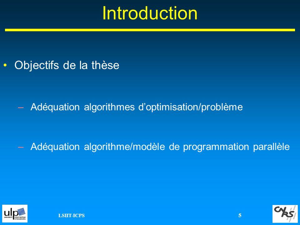 Introduction Objectifs de la thèse
