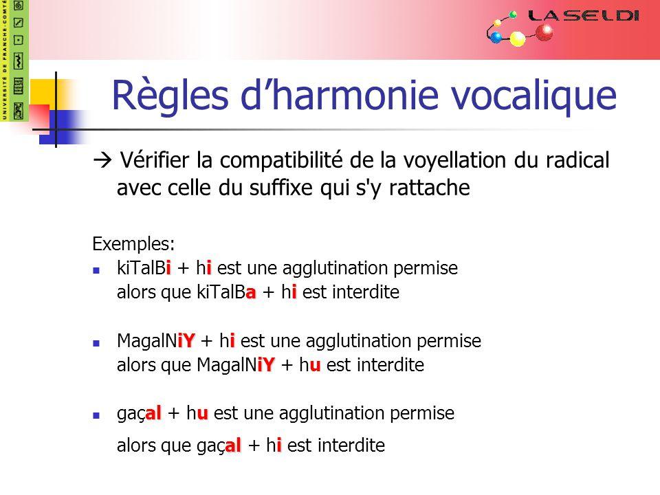 Règles d'harmonie vocalique