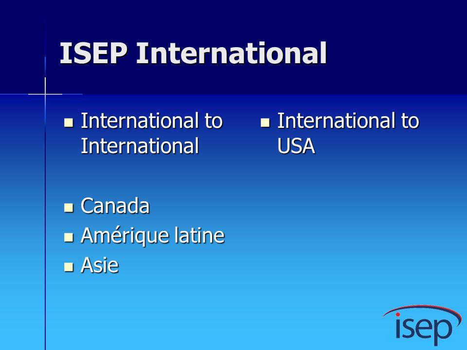 ISEP International International to International Canada