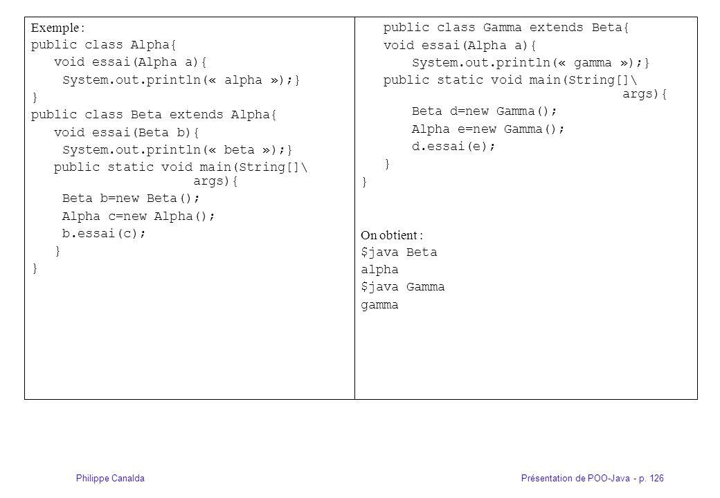 public class Gamma extends Beta{