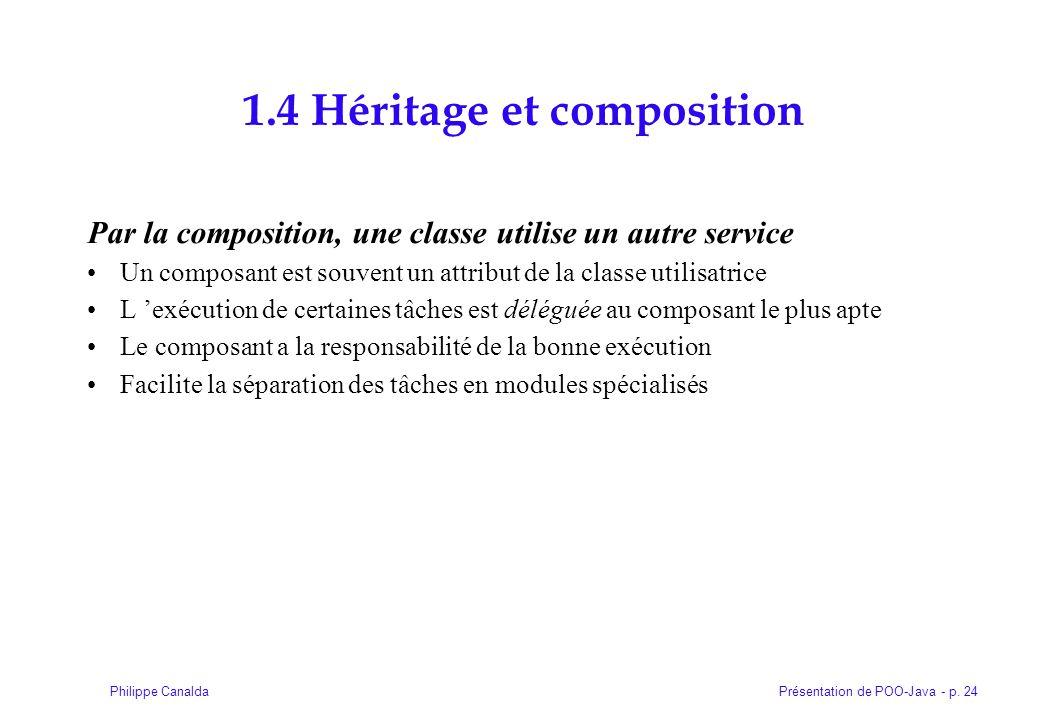 1.4 Héritage et composition
