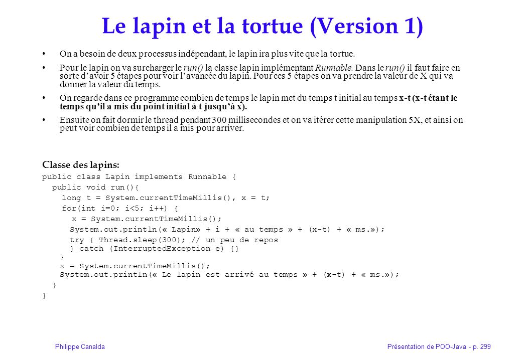 Le lapin et la tortue (Version 1)‏