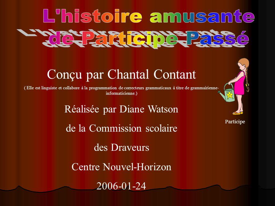 Conçu par Chantal Contant