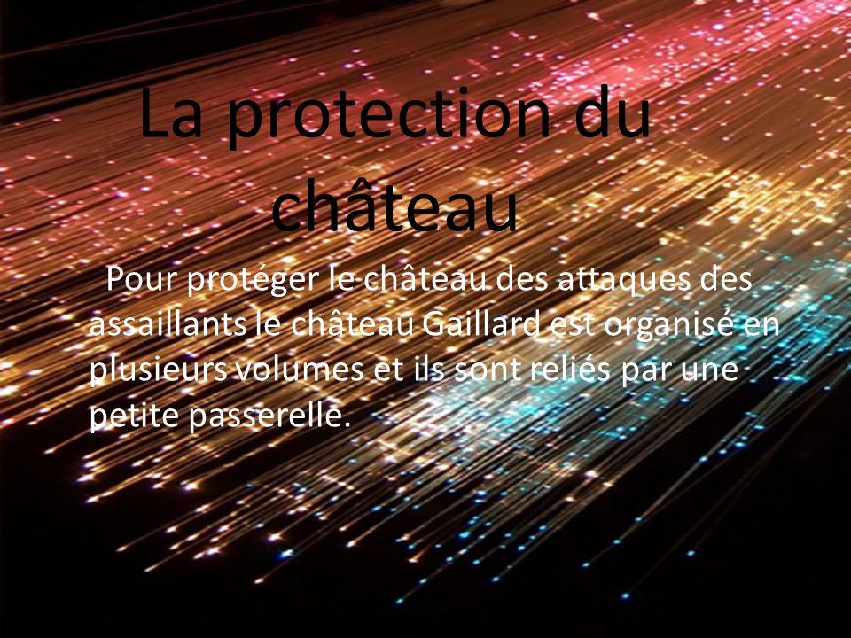 La protection du château