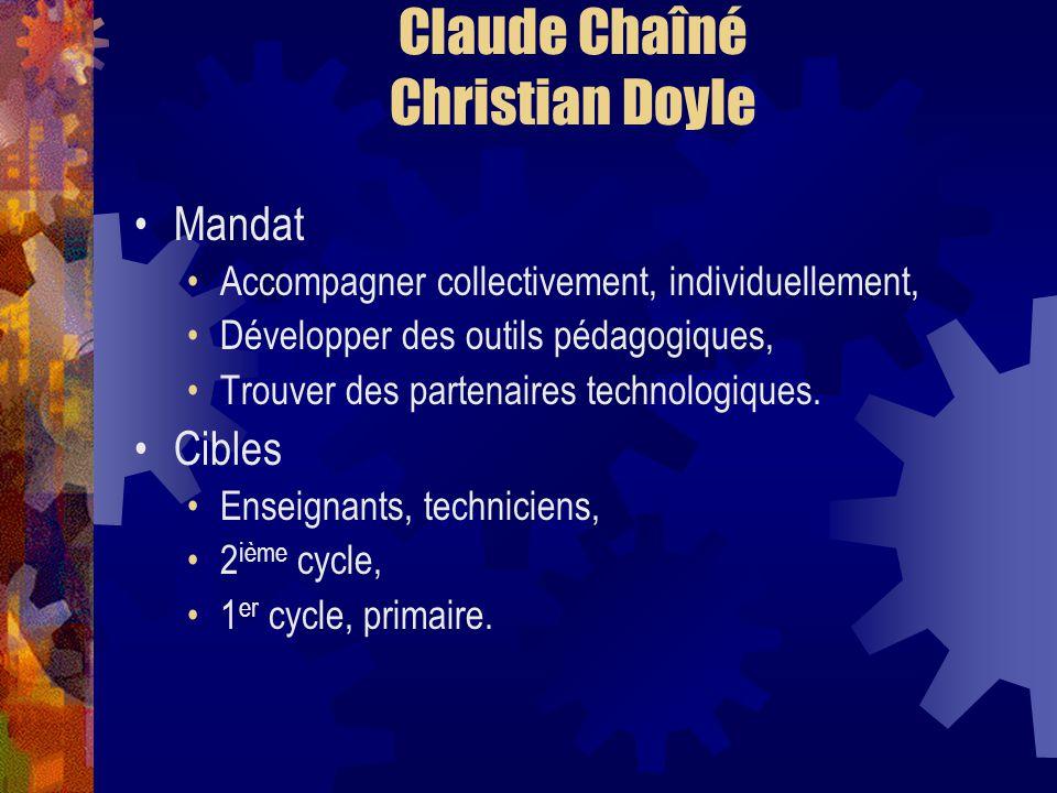 Claude Chaîné Christian Doyle