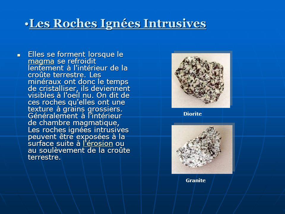 Les Roches Ignées Intrusives