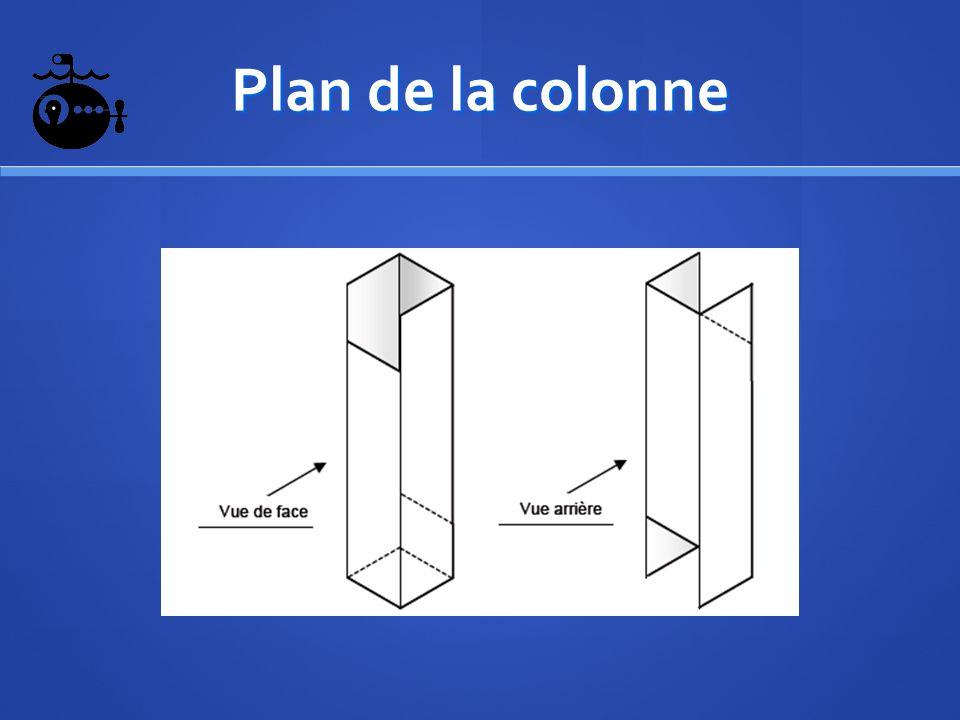 Plan de la colonne