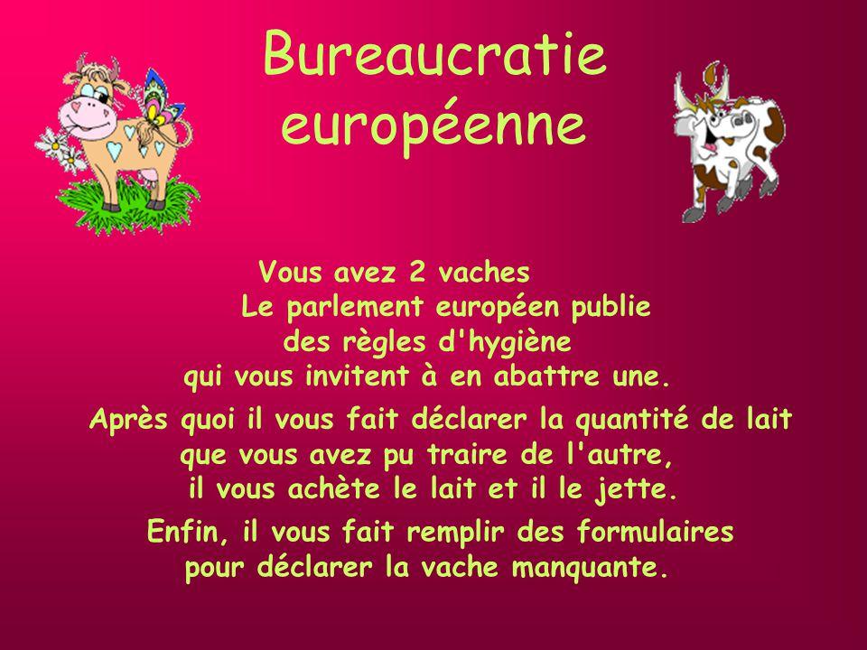 Bureaucratie européenne