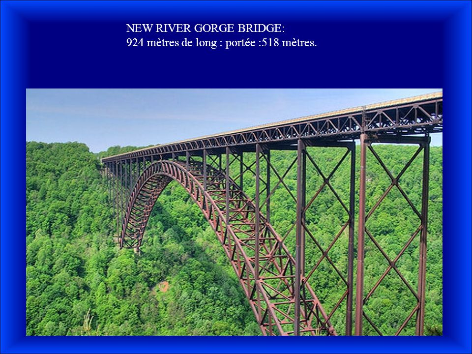 NEW RIVER GORGE BRIDGE: