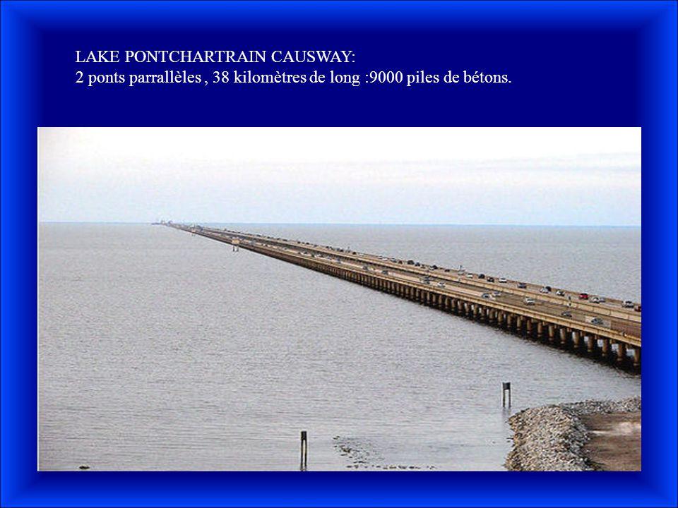 LAKE PONTCHARTRAIN CAUSWAY: