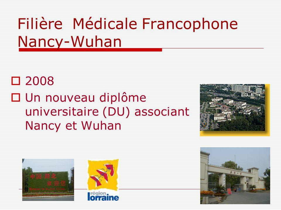 Filière Médicale Francophone Nancy-Wuhan