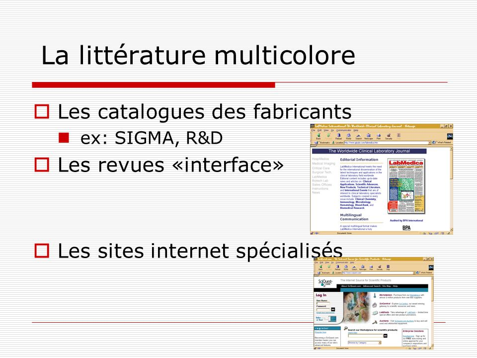 La littérature multicolore