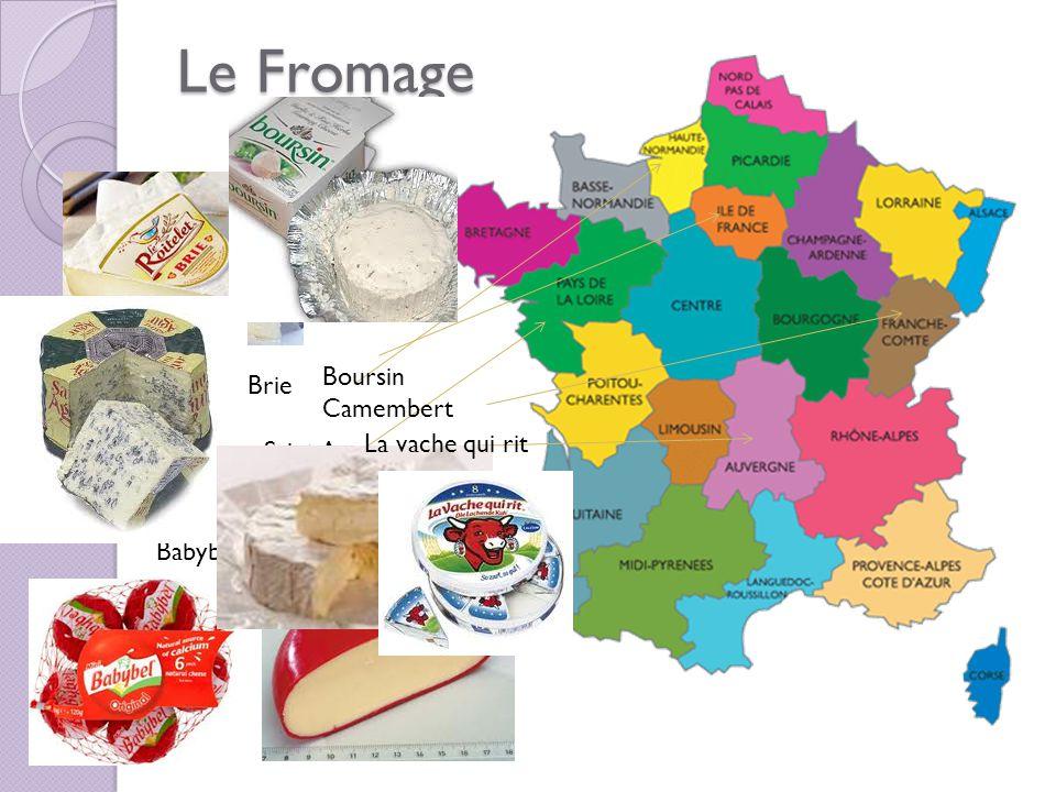 Le Fromage Boursin Camembert Brie La vache qui rit Saint Agur Babybel