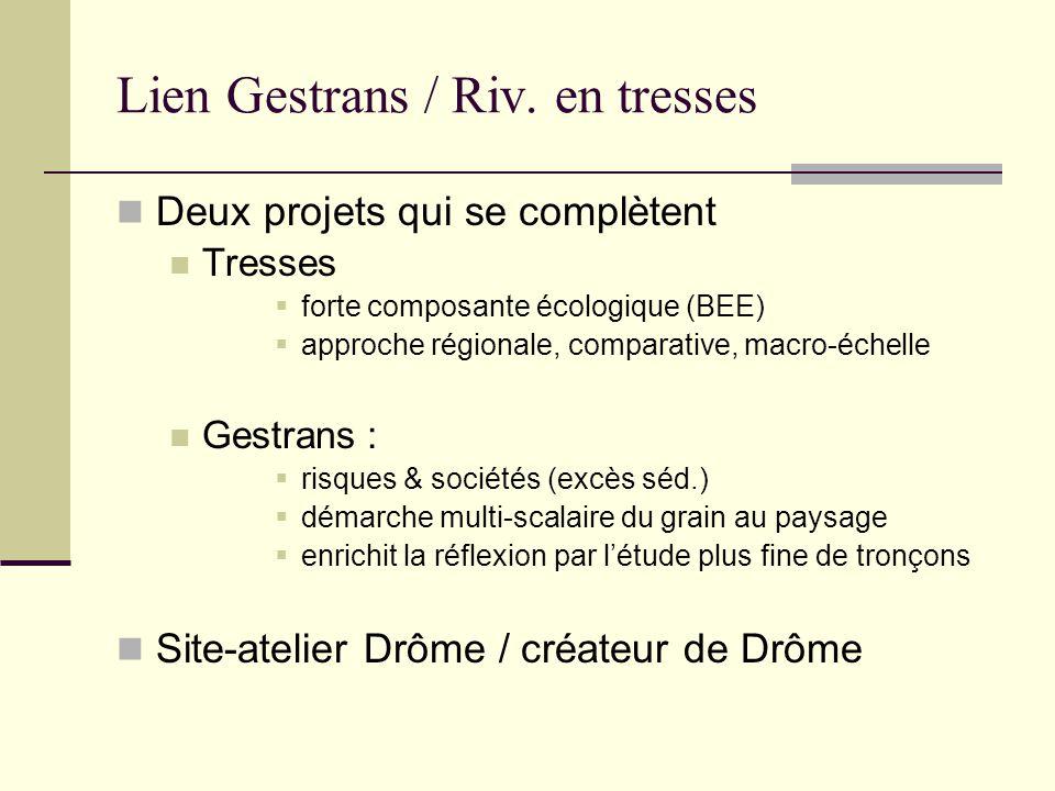 Lien Gestrans / Riv. en tresses