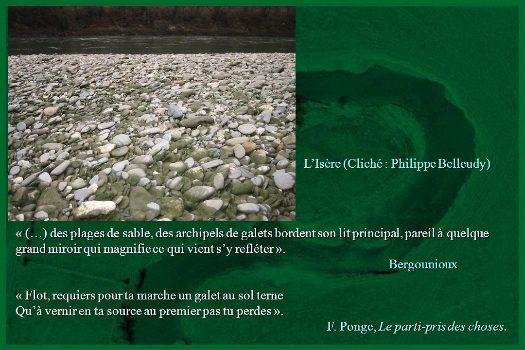 L'Isère (Cliché : Philippe Belleudy)