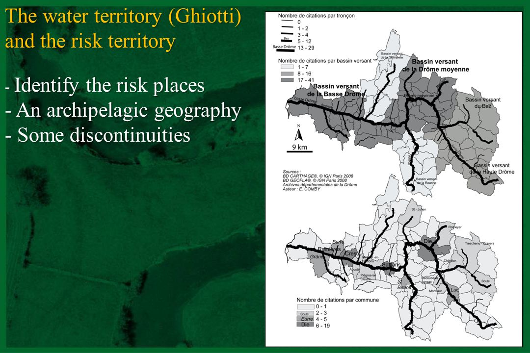 The water territory (Ghiotti) and the risk territory