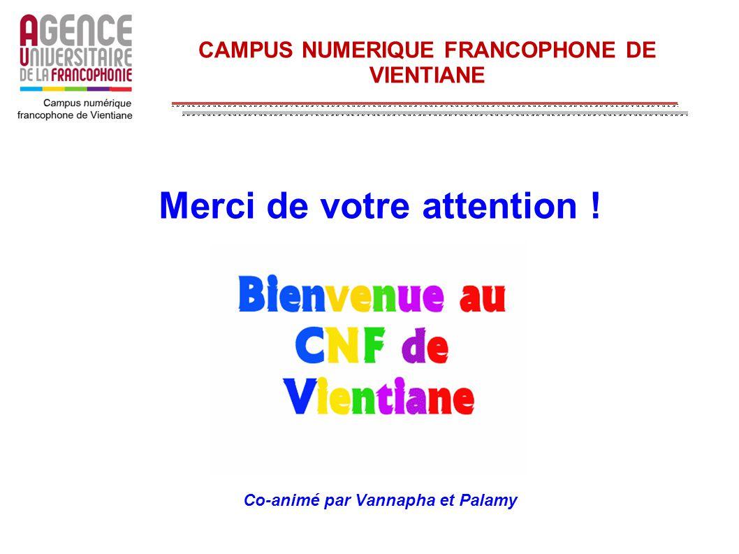 CAMPUS NUMERIQUE FRANCOPHONE DE VIENTIANE