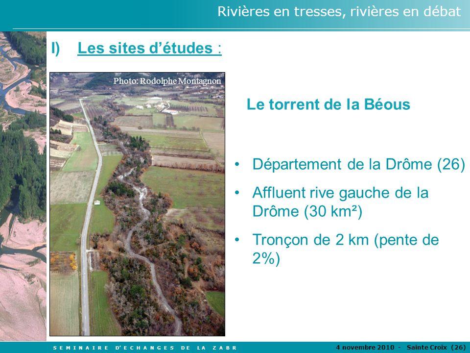 Département de la Drôme (26) Affluent rive gauche de la Drôme (30 km²)