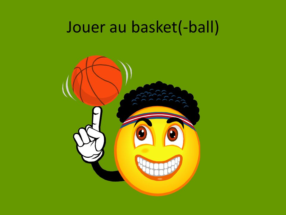 Jouer au basket(-ball)