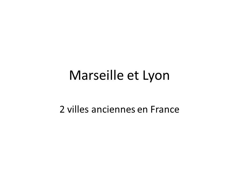 2 villes anciennes en France