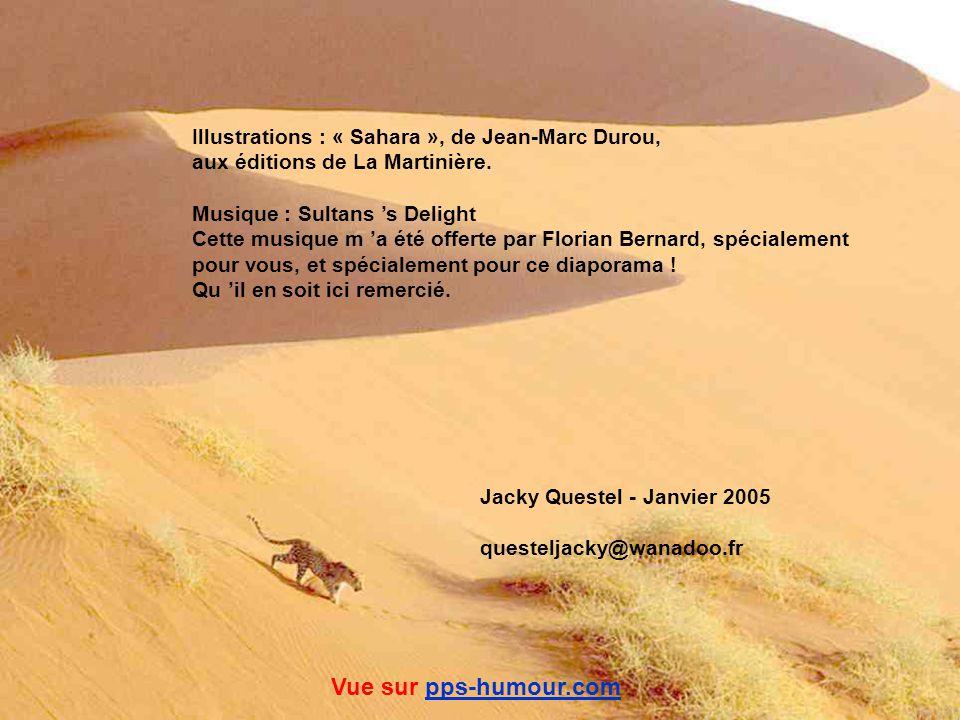 Vue sur pps-humour.com Illustrations : « Sahara », de Jean-Marc Durou,