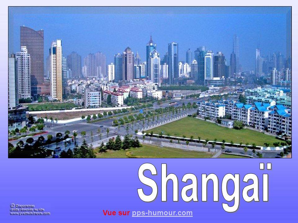Shangaï Vue sur pps-humour.com