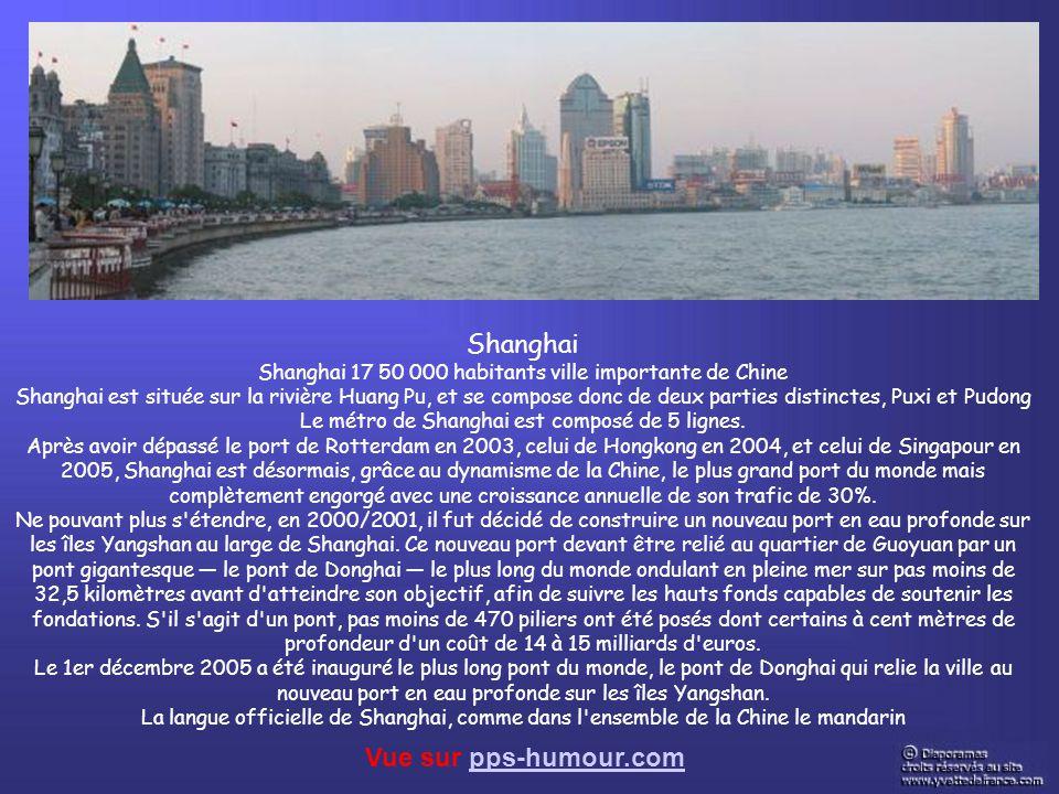 Shanghai Vue sur pps-humour.com