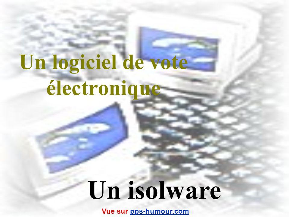 Un logiciel de vote électronique