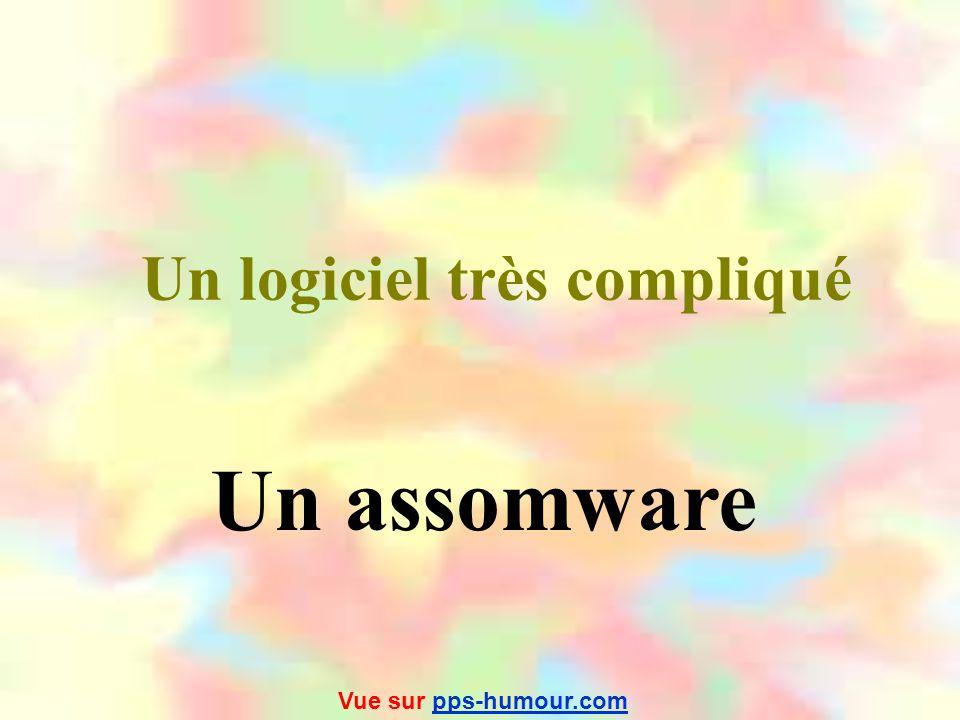 Un logiciel très compliqué