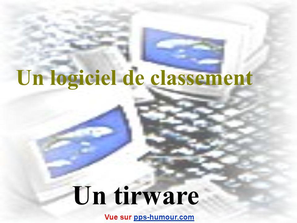Un logiciel de classement