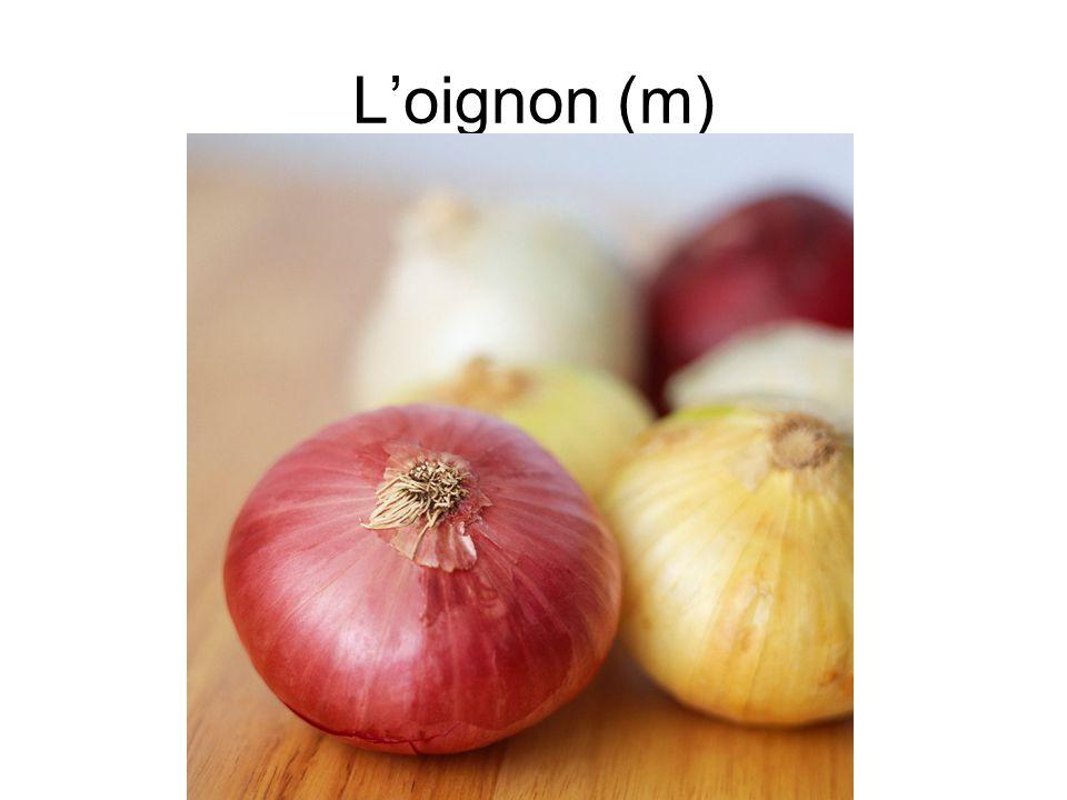 L'oignon (m)