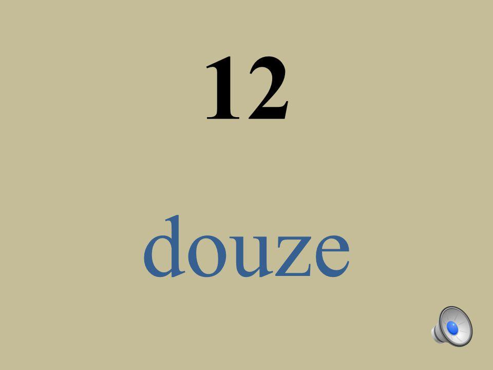 12 douze
