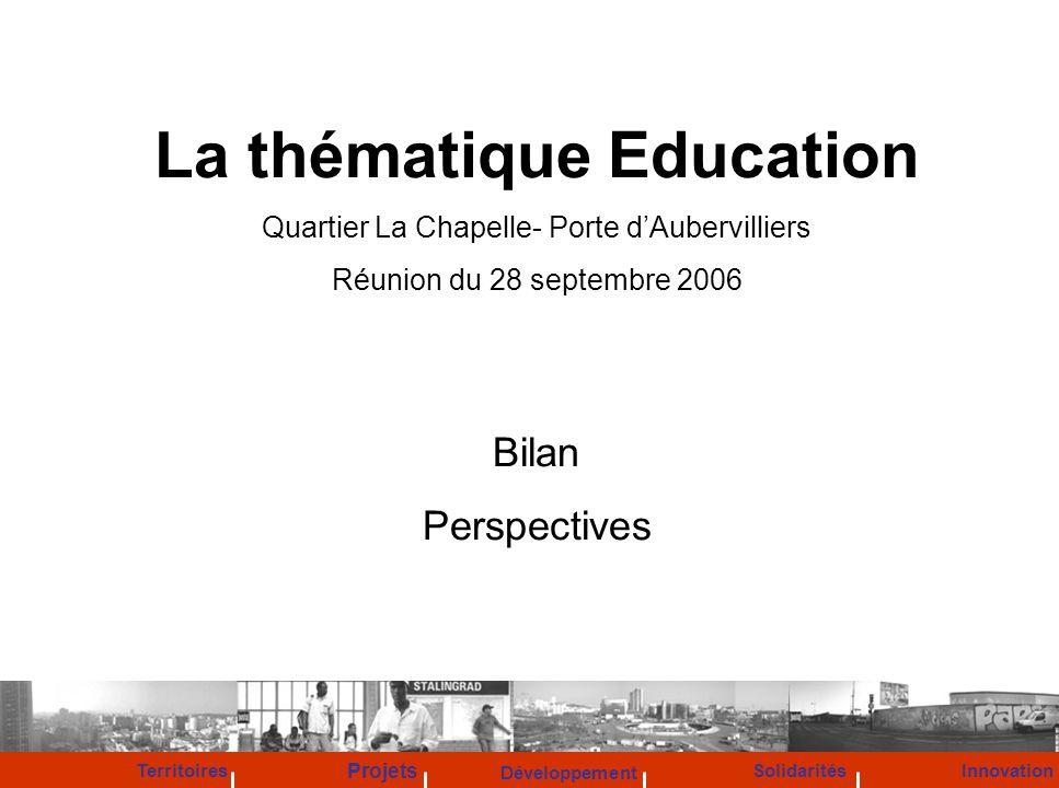 La thématique Education
