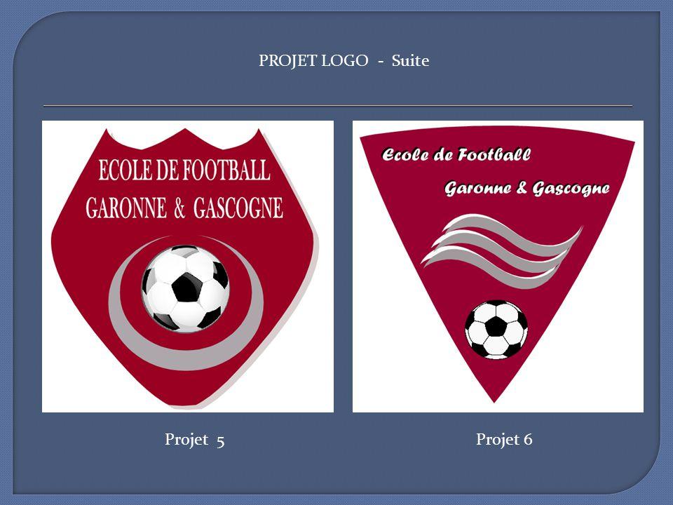PROJET LOGO - Suite Projet 5 Projet 6