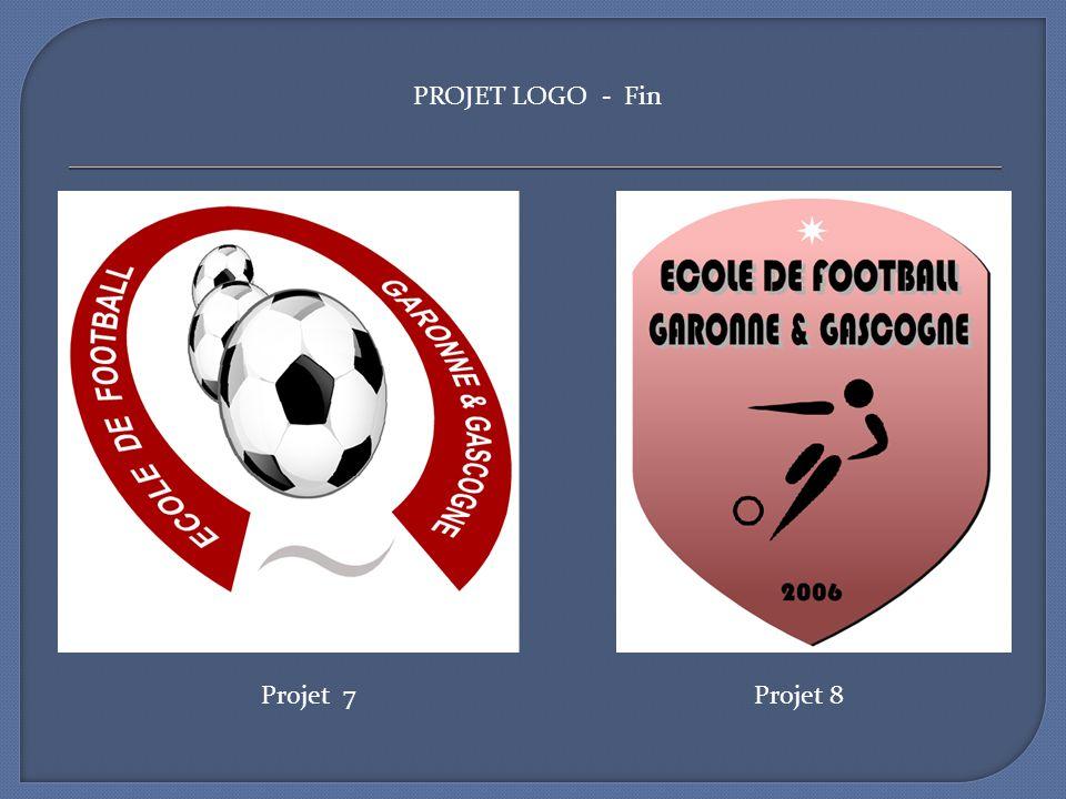 PROJET LOGO - Fin Projet 7 Projet 8