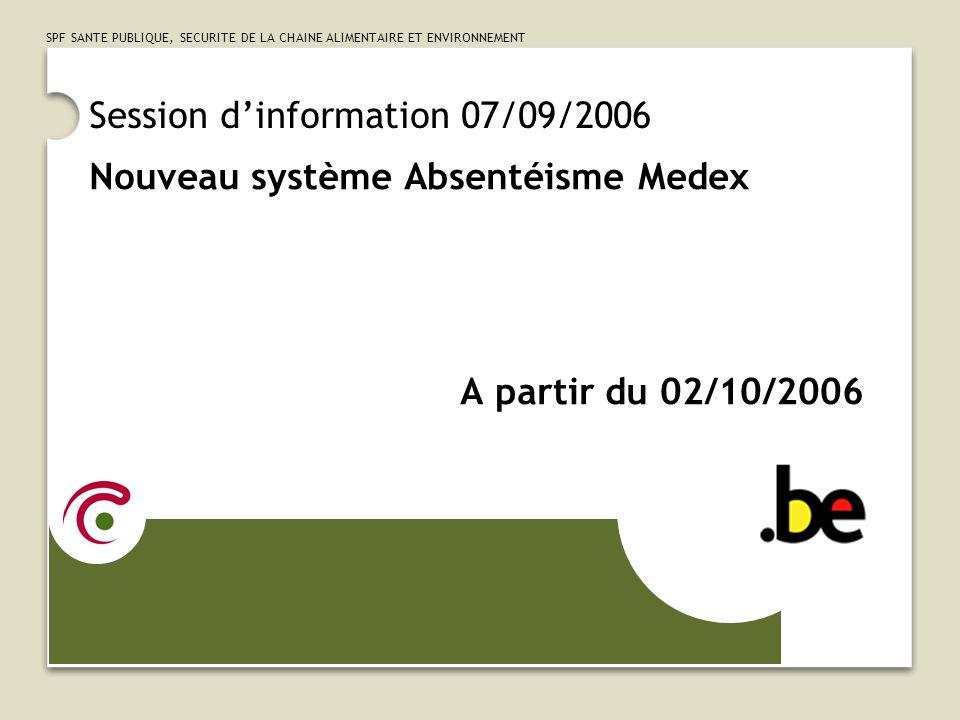 Session d'information 07/09/2006