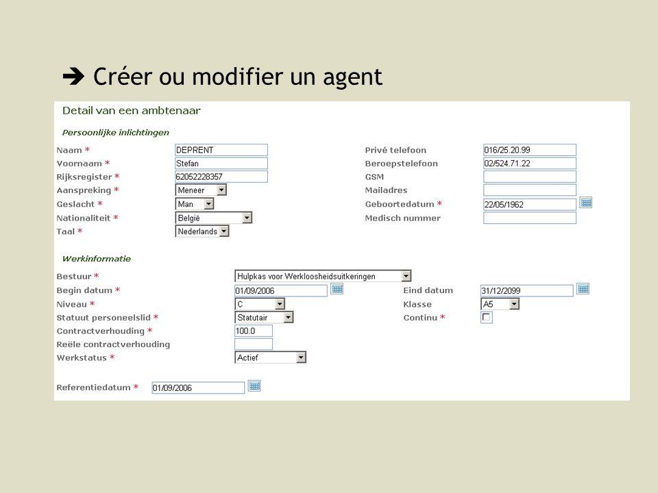  Créer ou modifier un agent