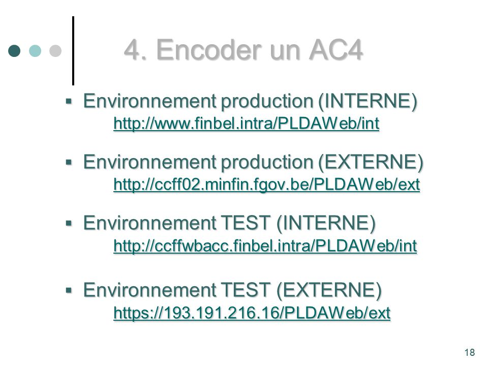4. Encoder un AC4 Environnement production (INTERNE)