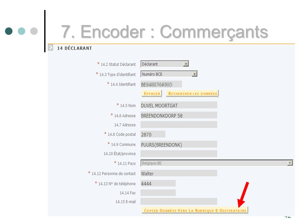7. Encoder : Commerçants 42