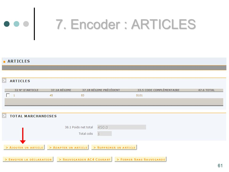 7. Encoder : ARTICLES 61