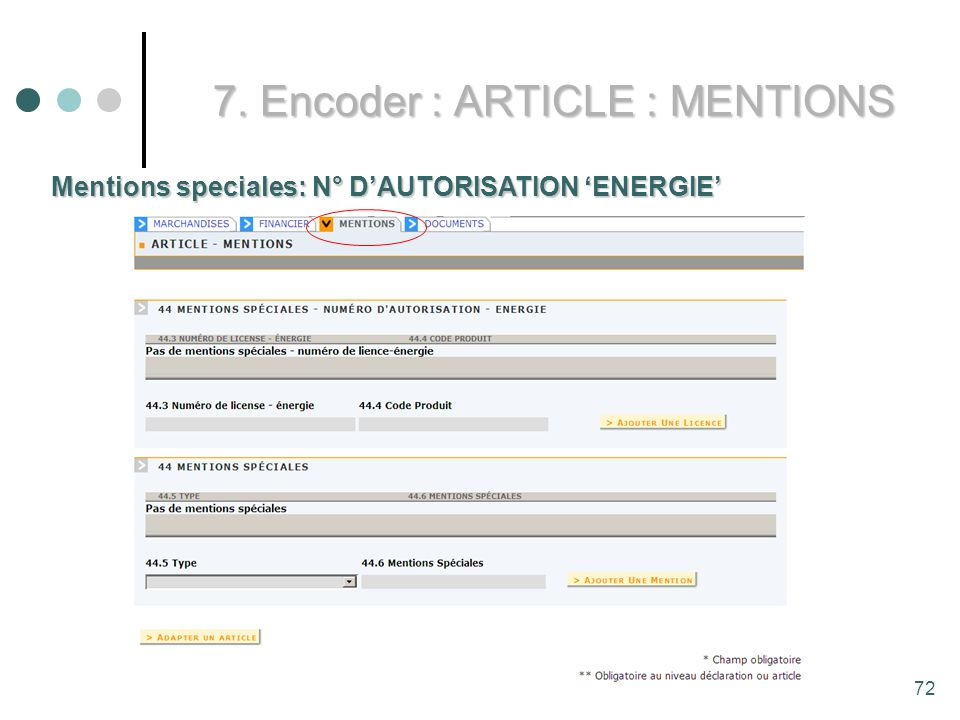 7. Encoder : ARTICLE : MENTIONS