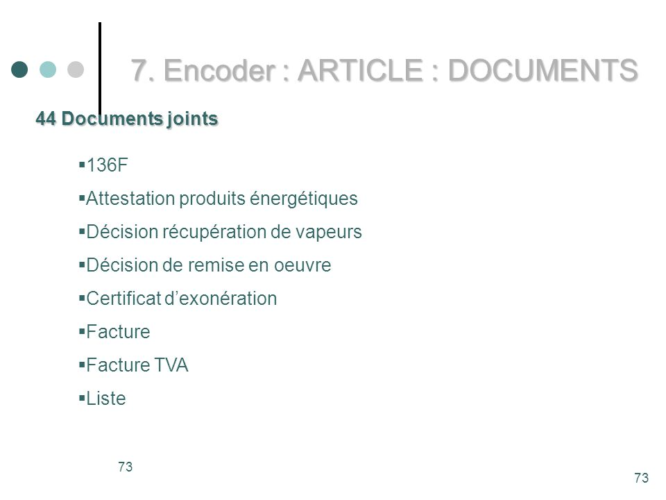 7. Encoder : ARTICLE : DOCUMENTS