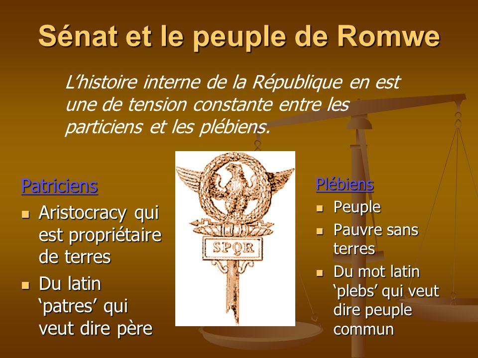 Sénat et le peuple de Romwe