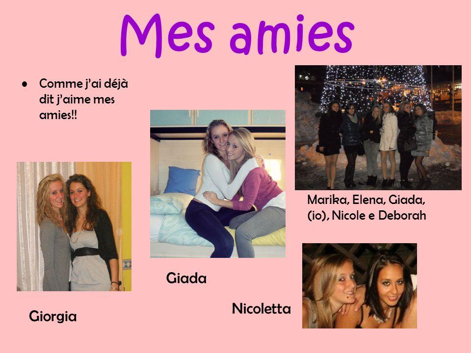 Mes amies Giada Nicoletta Giorgia