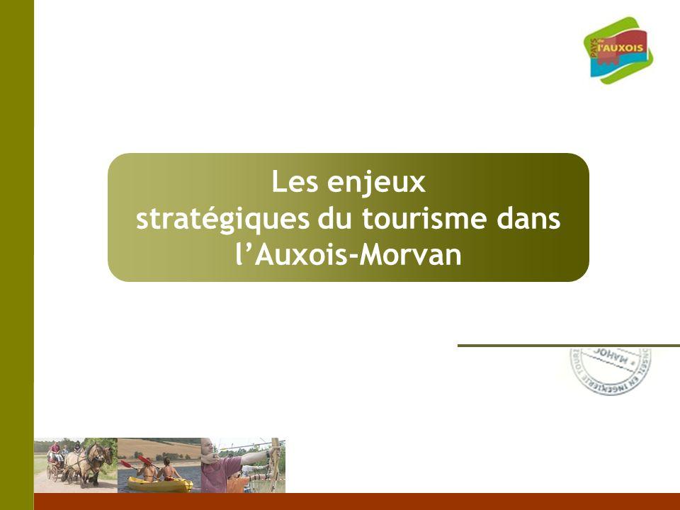 stratégiques du tourisme dans l'Auxois-Morvan