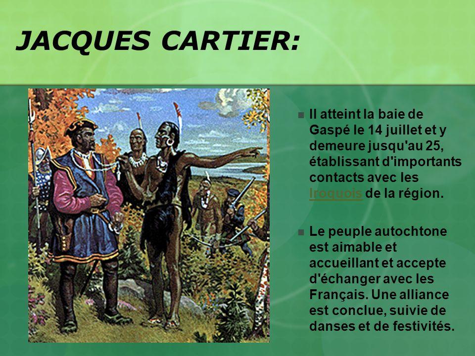 JACQUES CARTIER: