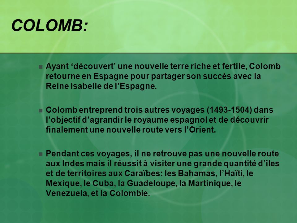 COLOMB: